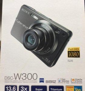 Sony dsc w300 фотоаппарат