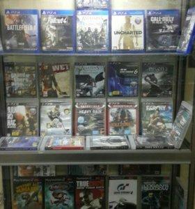 Игры PS2/PS3/PS4 Обмен.