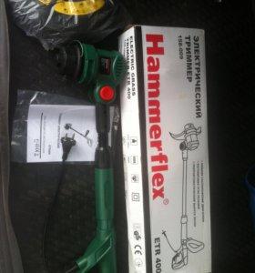 Продам новый Электротриммер HAMMER ETR400