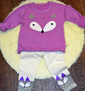 Новые костюмы с лисичкой,фиолетовый цвет