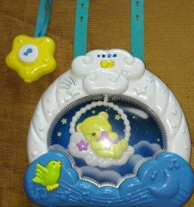Музыкальная игрушка для детской кроватки
