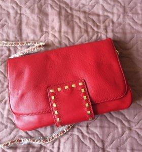 Новая кожаная сумка Fiato