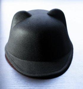шляпка, кепка с ушками