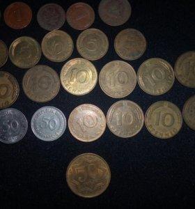 Монеты и копюры