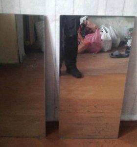 Два зеркала 40×82