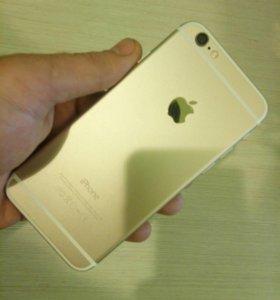 Айфон 6 голд на 128 идеального состояния