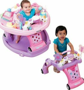 kolcraft 2 in 1 Baby sit and step