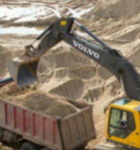 Песок с доставкой от карьера