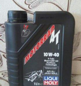 Моторное мото масло liqui moly Motorrad 4T 10W-40