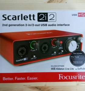 Focusrite Scarlett 2i2 2nd Gen