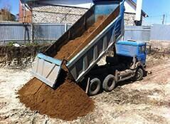 Песок строительный из карьеров вид АР4340