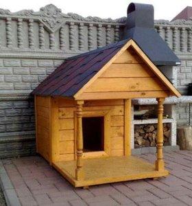 Домик для собаки и вольеры