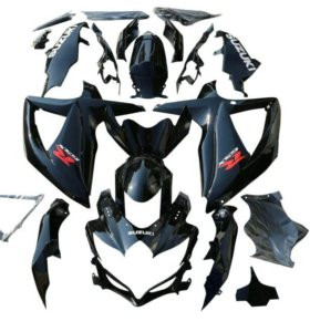 Комплект пластика Suzuki GSX-R 600 750 08-10 чёрны