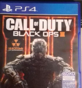 Диск Call of Duty Black Ops 3 для PS4