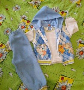 одежда пакетом на мальчика р.80