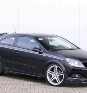 Пороги Steinmetz для Opel Astra H GTC