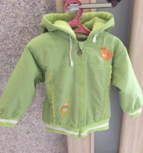Куртка детская весна осень