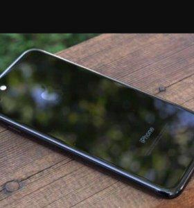 iPhone 7 чёрный оникс 128гб
