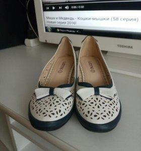 Туфли новые, кожанные