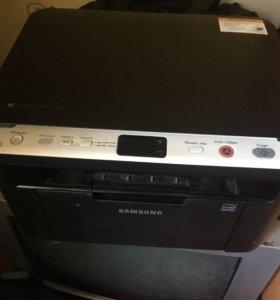 Принтер лайзерный, сканер, копир. Мфу 3в1.