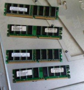 Оперативная память 512mb 1шт Ddr3