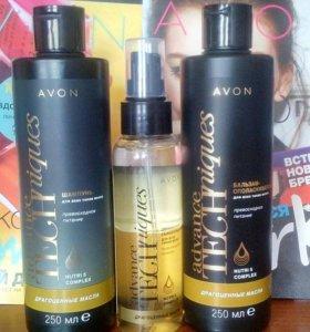 """Средства по уходу за волосами """"драгоценные масла"""""""