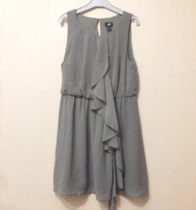 Платье с рюшами 42/44