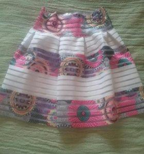 Игривая летняя юбка