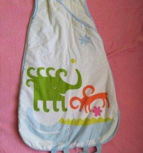 Спальный мешок с 0 до 6 месяцев