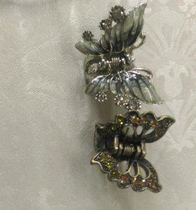 Заколки и браслеты
