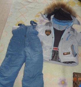 Куртка и штаны. Зима