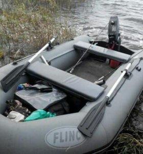 Лодка FLINK 340 KL + Мотор NISSAN MARINE 3.5