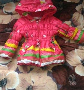 Курточка для девочки,весна осень
