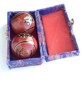 Китайские шарики Гантань для медитации и массажа