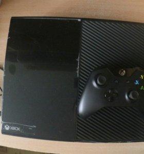 Xbox one на гарантии+3игры