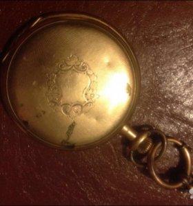 """Часы """"Elgin"""" конец 19 века"""