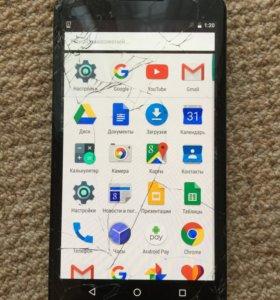Motorola Nexus 6 32Gb треснут дисплей