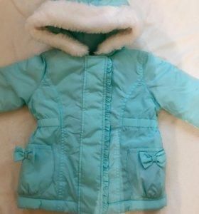 Стильная курточка на маленькую модницу
