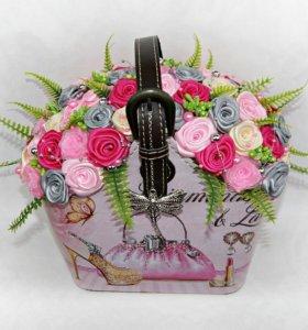 Интерьерная сумочка