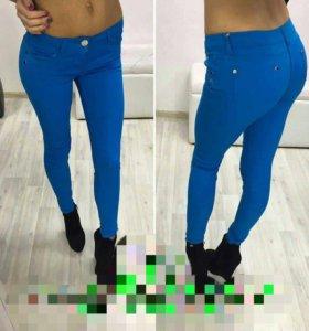 Джинсы-брюки