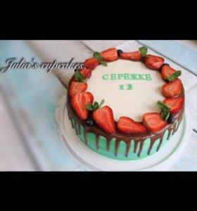 Тортики с ягодами