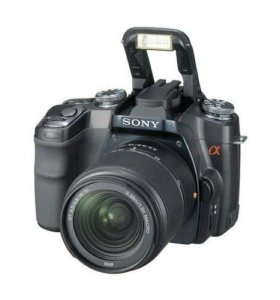 Фотоаппарат Sony Alpha dslr-A100 Kit