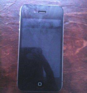 СРОЧНО!!!!!! Продам айфон 4 черный на 8гб