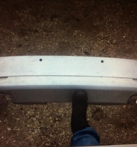 Задний бампер skoda Octavia combi 2