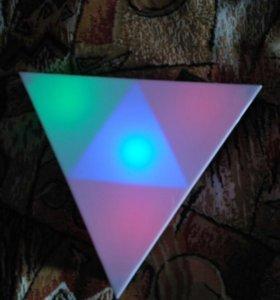 """Ночник """"треугольник"""""""