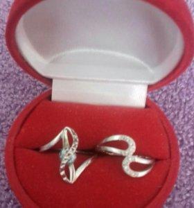 Продам кольца серебро