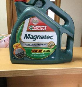 Моторное масло Castrol Magnatec 10w40 4 л