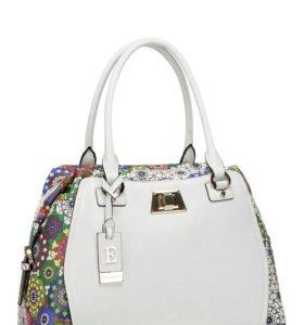 Новая кожаная сумка eleganzza