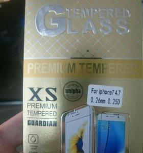 Apple iPhone 5,5s,6,6s, 6+, 7, 7+ защитное стекло