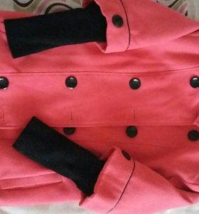 Пальто для девочки рост 140